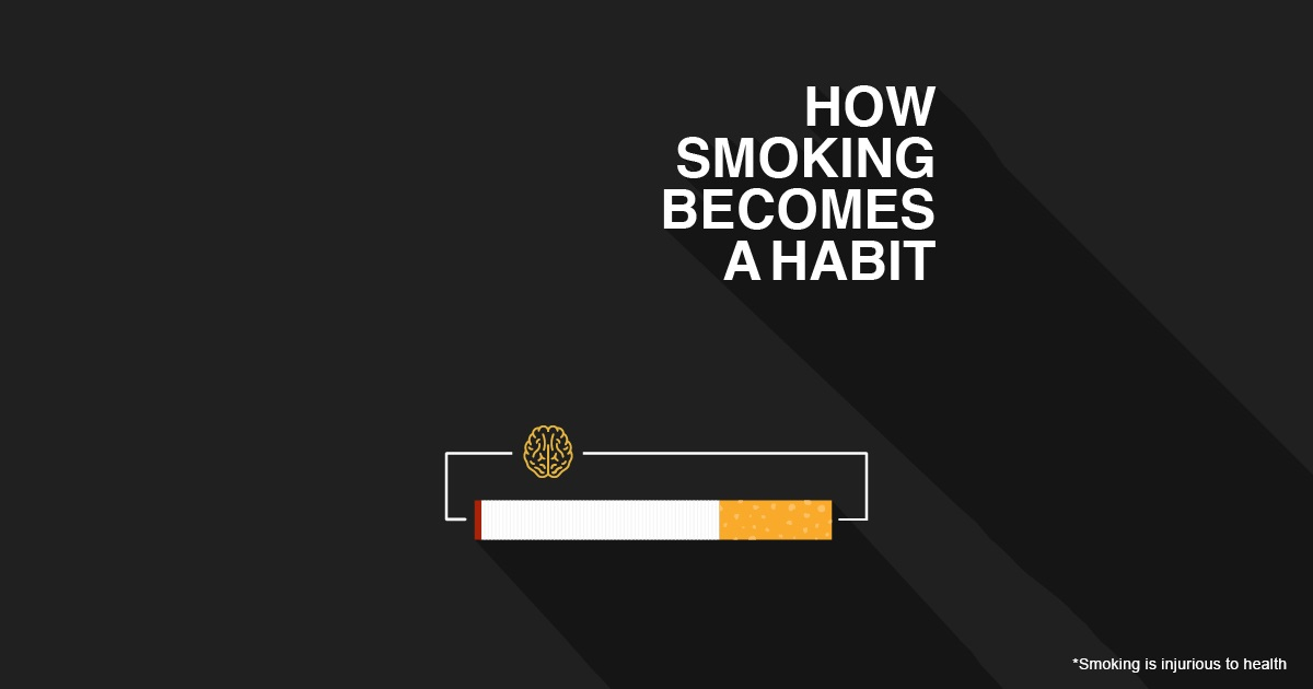 how smoking becomes a habit